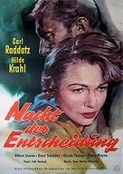 Nacht der Entscheidung - German Movie Poster (xs thumbnail)