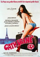 Catherine et Cie - German Movie Poster (xs thumbnail)