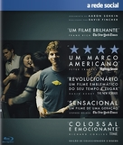 The Social Network - Portuguese Blu-Ray movie cover (xs thumbnail)