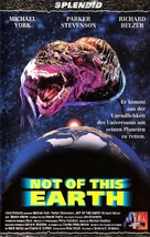 Not of This Earth - German VHS movie cover (xs thumbnail)