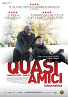 Intouchables - Italian Movie Poster (xs thumbnail)