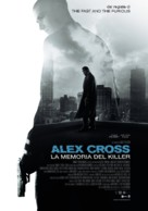 Alex Cross - Italian Movie Poster (xs thumbnail)