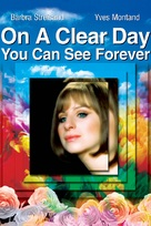 On a Clear Day You Can See Forever - DVD cover (xs thumbnail)