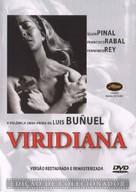 Viridiana - Portuguese DVD cover (xs thumbnail)