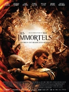 Immortals - French Movie Poster (xs thumbnail)