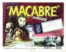 Macabre - British Movie Poster (xs thumbnail)