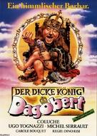 Le bon roi Dagobert - German Movie Poster (xs thumbnail)