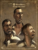 O Brother, Where Art Thou? - DVD cover (xs thumbnail)