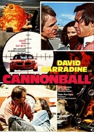Cannonball! - German Movie Poster (xs thumbnail)