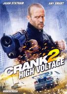 Crank: High Voltage - DVD cover (xs thumbnail)
