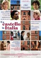 Un château en Italie - Italian Movie Poster (xs thumbnail)