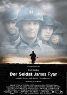 Saving Private Ryan - German Movie Poster (xs thumbnail)
