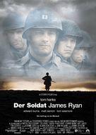Saving Private Ryan - German Movie Poster (xs thumbnail)
