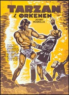 Tarzan's Desert Mystery - Danish Movie Poster (xs thumbnail)