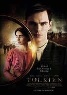 Tolkien - Dutch Movie Poster (xs thumbnail)