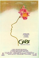 Gaby: A True Story - Spanish Movie Poster (xs thumbnail)