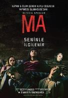 Ma - Turkish Movie Poster (xs thumbnail)