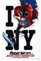 Friday the 13th Part VIII: Jason Takes Manhattan - Movie Poster (xs thumbnail)