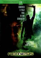 Star Trek: Nemesis - Spanish DVD cover (xs thumbnail)