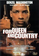 For Queen and Country - Danish DVD cover (xs thumbnail)