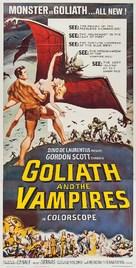 Maciste contro il vampiro - Movie Poster (xs thumbnail)