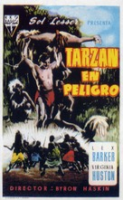 Tarzan's Peril - Spanish Movie Poster (xs thumbnail)