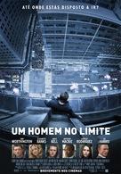 Man on a Ledge - Portuguese Movie Poster (xs thumbnail)