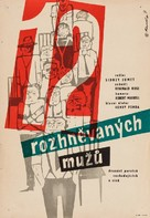 12 Angry Men - Czech Movie Poster (xs thumbnail)