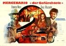 Il mercenario - German Movie Poster (xs thumbnail)