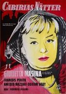 Le notti di Cabiria - Swedish Movie Poster (xs thumbnail)