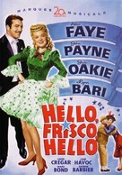 Hello Frisco, Hello - DVD cover (xs thumbnail)