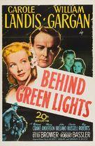 Behind Green Lights - Movie Poster (xs thumbnail)