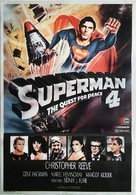 Superman IV: The Quest for Peace - Turkish Movie Poster (xs thumbnail)