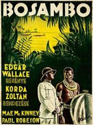 Sanders of the River - Hungarian Movie Poster (xs thumbnail)