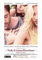 Vicky Cristina Barcelona - Hungarian Movie Poster (xs thumbnail)