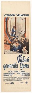 The Bitter Tea of General Yen - Czech Movie Poster (xs thumbnail)