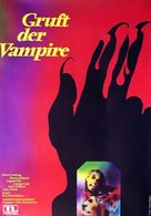 The Vampire Lovers - German Movie Poster (xs thumbnail)