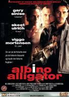 Albino Alligator - Danish DVD movie cover (xs thumbnail)