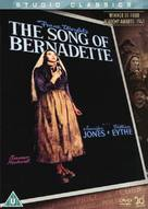 The Song of Bernadette - British Movie Cover (xs thumbnail)