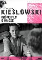 Krótki film o milosci - Polish DVD cover (xs thumbnail)