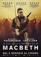 Macbeth - Italian Movie Poster (xs thumbnail)