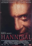 Hannibal - Italian Movie Poster (xs thumbnail)