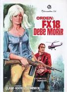 Agent secret FX 18 - Spanish Movie Poster (xs thumbnail)