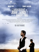 The Assassination of Jesse James by the Coward Robert Ford - French Movie Poster (xs thumbnail)