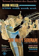 Sun Valley Serenade - German Movie Poster (xs thumbnail)