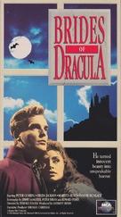 The Brides of Dracula - VHS cover (xs thumbnail)