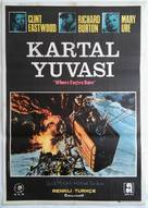 Where Eagles Dare - Turkish Movie Poster (xs thumbnail)