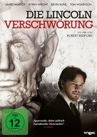 The Conspirator - German DVD cover (xs thumbnail)