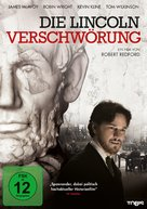 The Conspirator - German DVD movie cover (xs thumbnail)