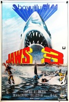 Jaws 3D - Turkish Movie Poster (xs thumbnail)